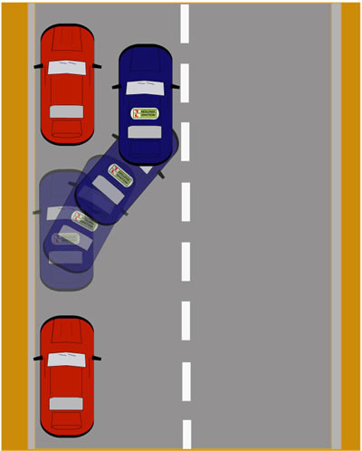 How To Parallel Park Between Two Cars