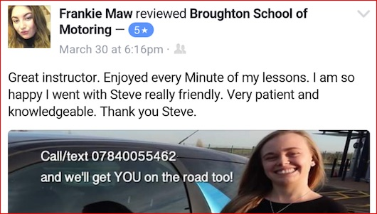 Review driving lessons