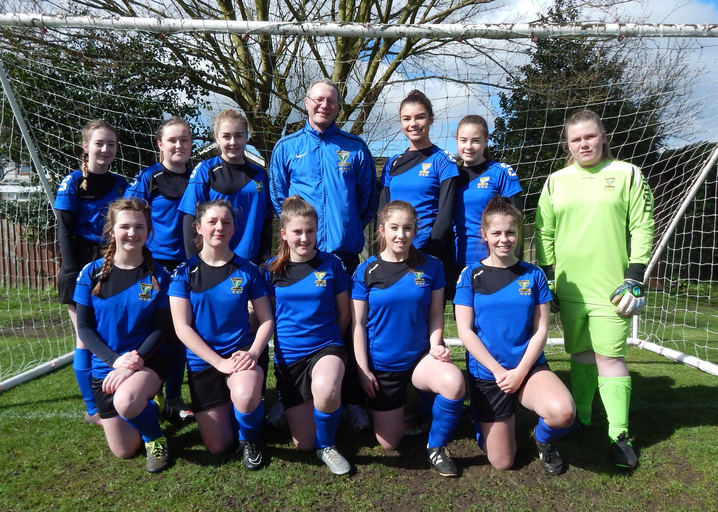 Broughton Ravers U16 girls
